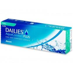 Контактные линзы Alcon Dailies Aqua Comfort Plus Toric