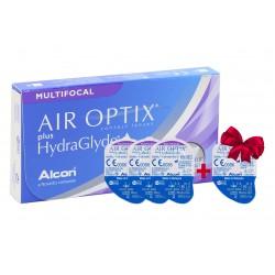 Контактные линзы Alcon Air Optix plus Hydraglyde Multifocal