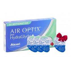 Контактные линзы Alcon Air Optix plus Hydraglyde Toric