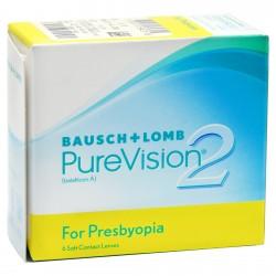 Контактные линзы Bausch&Lomb Pure Vision 2 Multifocal
