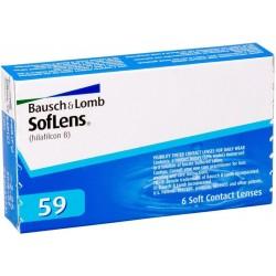Контактные линзы Bausch&Lomb Soflens 59