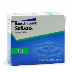 Контактные линзы Bausch&Lomb Soflens 38