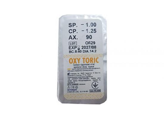 Контактные линзы Comfort line Oxy Toric